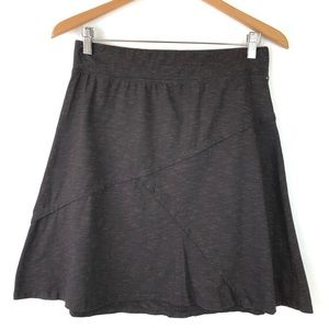 Horny Toad Oblique Skirt Organic Cotton Tencel M
